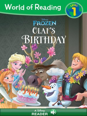 cover image of Olaf's Birthday