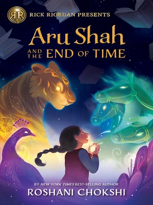 Cover image for Aru Shah and the End of Time