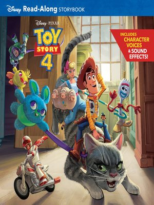 cover image of Toy Story 4 Read-Along Storybook