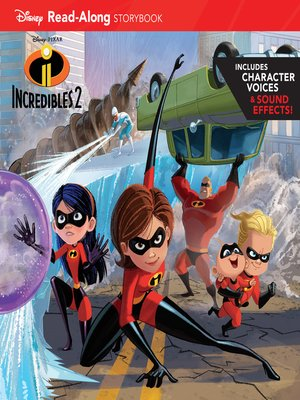 cover image of Incredibles 2 Read-Along Storybook