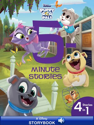 cover image of 5-Minute Puppy Dog Pals Stories