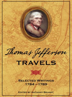 cover image of Thomas Jefferson Travels