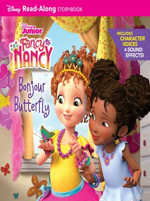 cover image of Fancy Nancy Read-Along Storybook