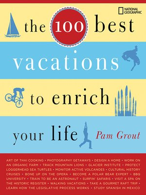 cover image of The 100 Best Vacations to Enrich Your Life