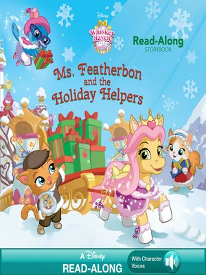 cover image of Ms. Featherbon and the Holiday Helper Read-Along Storybook