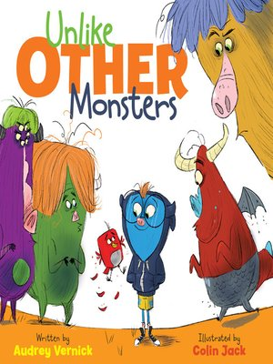 cover image of Unlike Other Monsters