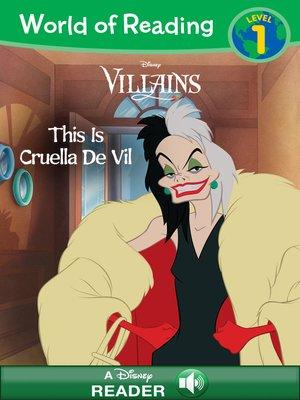 cover image of Cruella de Vil