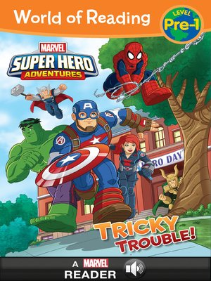 cover image of Super Hero Adventures: Tricky Trouble!