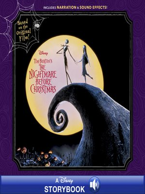 cover image of Tim Burton's the Nightmare Before Christmas Storybook
