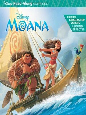 cover image of Moana Read-Along Storybook