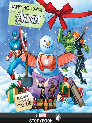cover image of Happy Holidays! From the Avengers