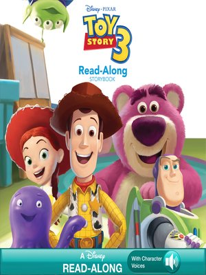 cover image of Toy Story 3 Read-Along Storybook