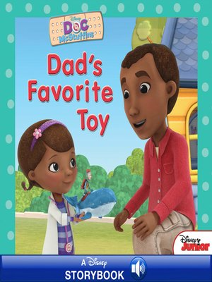 cover image of Dad's Favorite Toy: A Disney Read-Along