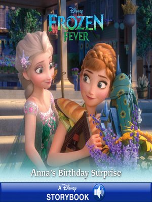 cover image of Anna's Birthday Surprise: A Disney Read-Along