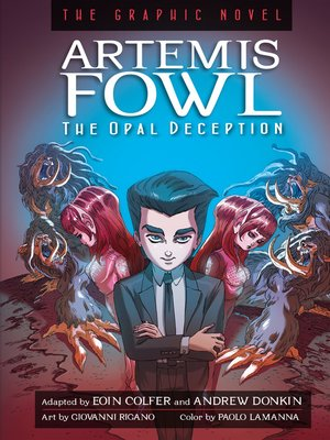 cover image of The Opal Deception Graphic Novel