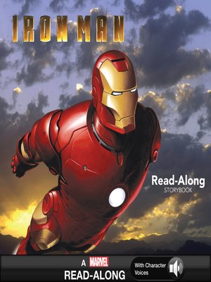 cover image of Iron Man Read-Along Storybook