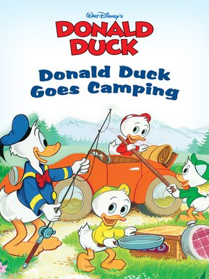cover image of Donald Duck Goes Camping