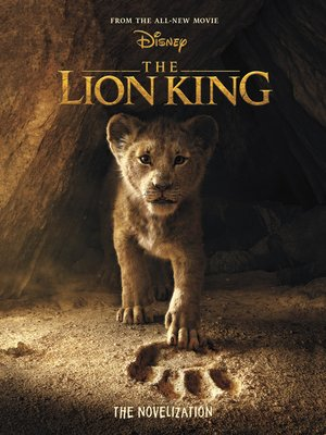 cover image of The Lion King Live Action Novelization