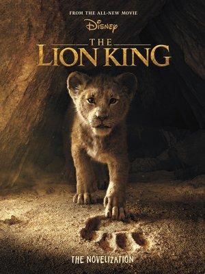 cover image of The Lion King Live Action Novelization