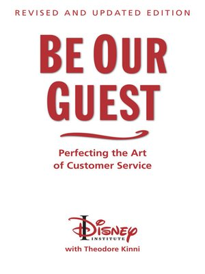 cover image of Be Our Guest