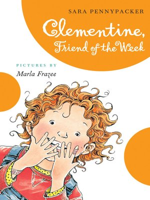 cover image of Clementine, Friend of the Week