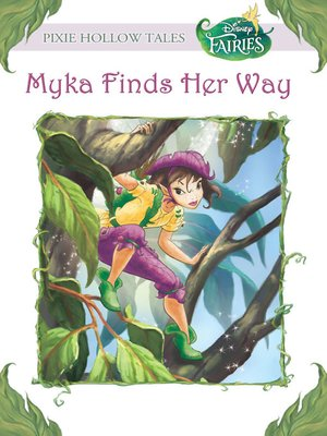 cover image of Myka Finds Her Way