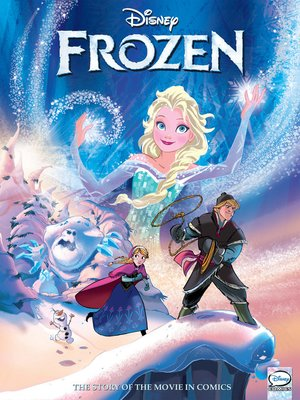 cover image of Frozen Graphic Novel