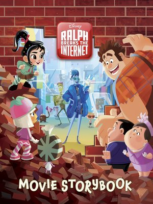 cover image of Ralph Breaks the Internet Movie Storybook