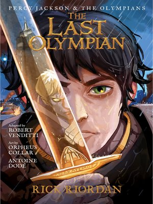 cover image of The Last Olympian: The Graphic Novel