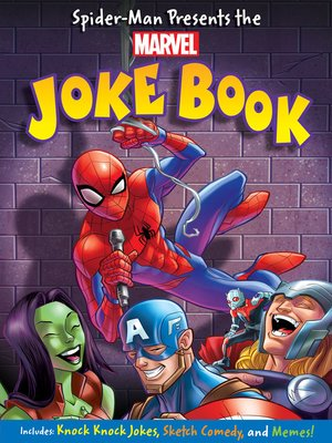 cover image of Spider-Man Presents: The Marvel Joke Book