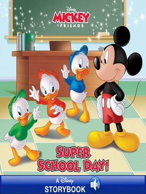 cover image of Super School Day!