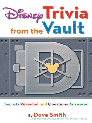 cover image of Disney Trivia from the Vault