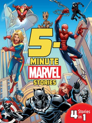 cover image of 5-Minute Marvel Stories