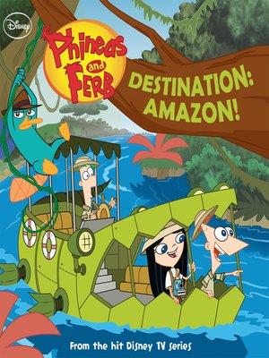 cover image of Destination: Amazon!