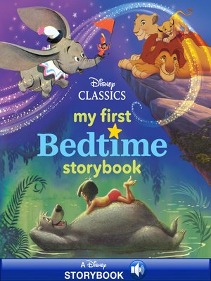 cover image of My First Disney Classics Bedtime Storybook