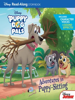 cover image of Adventures in Puppy-Sitting
