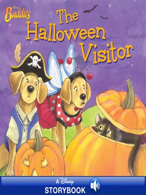 cover image of The Halloween Visitor