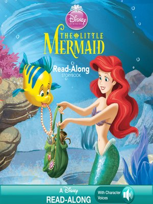 cover image of The Little Mermaid Read-Along Storybook