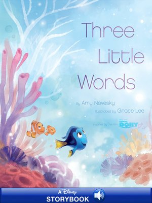 cover image of Three Little Words: A Disney Read-Along
