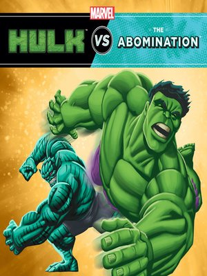 cover image of Hulk vs. Abomination