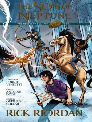 cover image of The Son of Neptune: The Graphic Novel