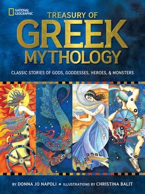 cover image of Treasury of Greek Mythology