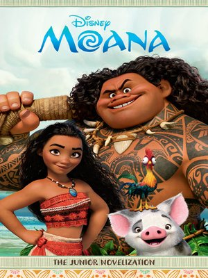 cover image of Moana Junior Novel