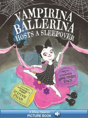 cover image of Vampirina Ballerina Hosts a Sleepover
