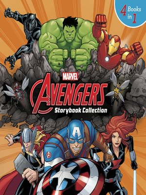 cover image of Marvel Storybook Collection