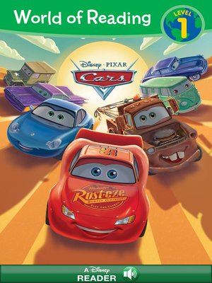 cover image of World of Reading Cars 3