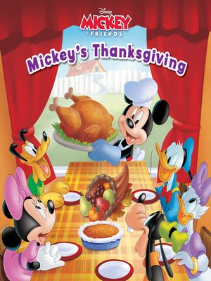 cover image of Mickey's Thanksgiving