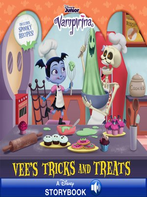 cover image of Vee's Tricks and Treats