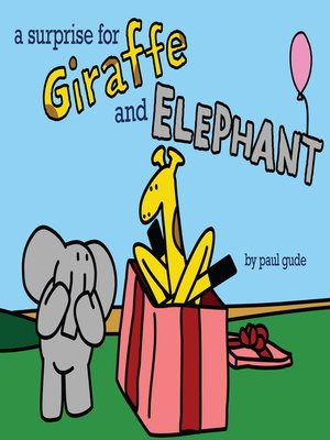 cover image of A Surprise for Giraffe and Elephant