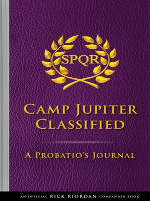 cover image of The Trials of Apollo: Camp Jupiter Classified